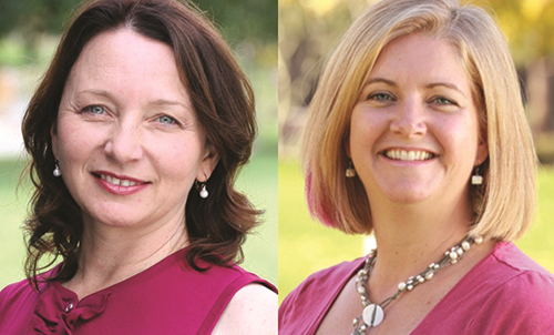 Dominique Roe-Sepowitz (right) and Judy Krysik (left)