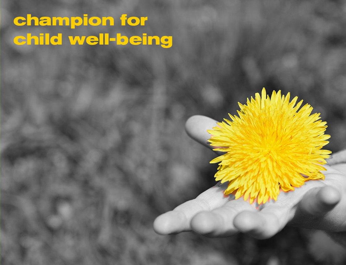 Nominate A Champion for Child Well-Being today!
