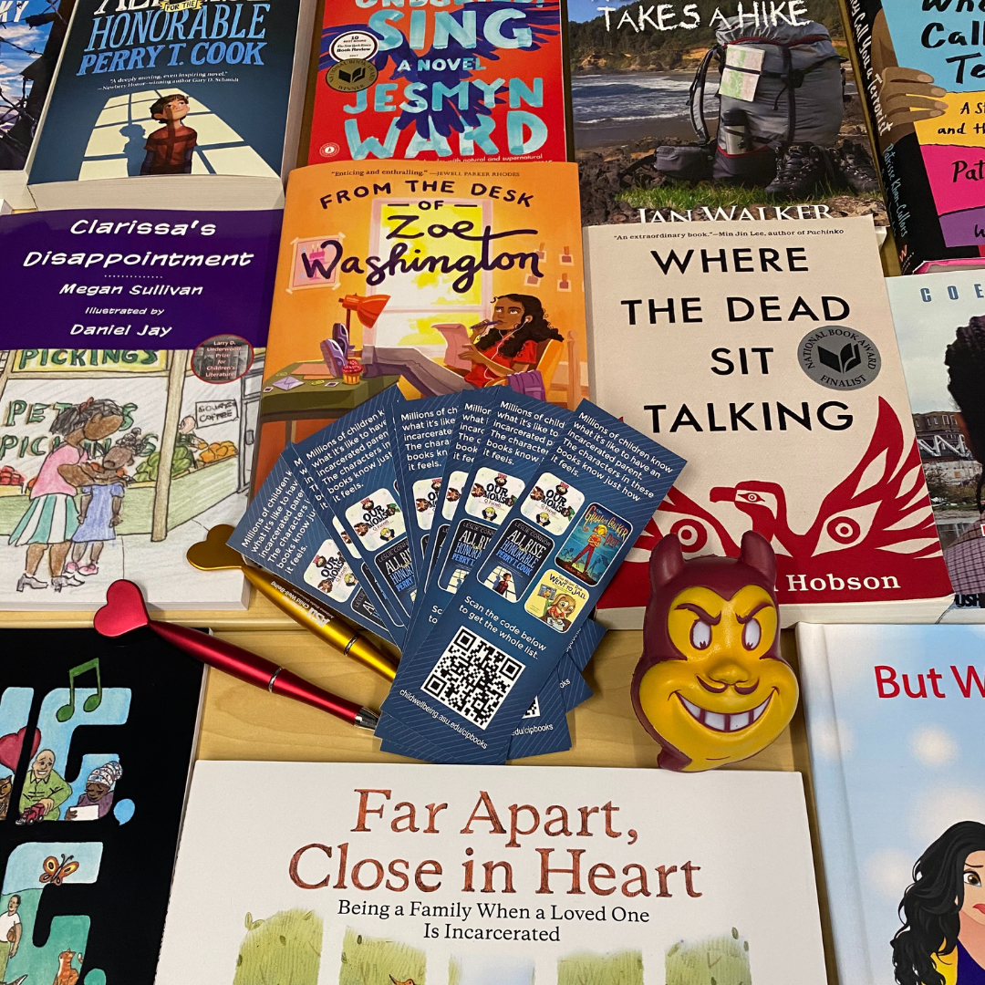 Photo of books about Children with Incarcerated Parents