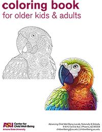 Arizona State University, ASU, #1Innovation, COVID19, Corona Virus, Activities for Kids, Kids Coloring Books, Fun activities to do while at home, social distancing, activities for kids out of school, activities for kids while quarantined