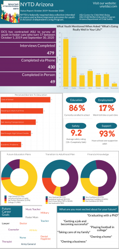 NYTD survey results infographic