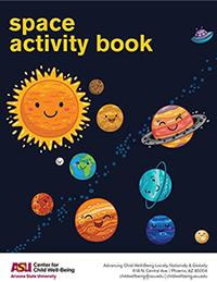 Space Activity Book Cover